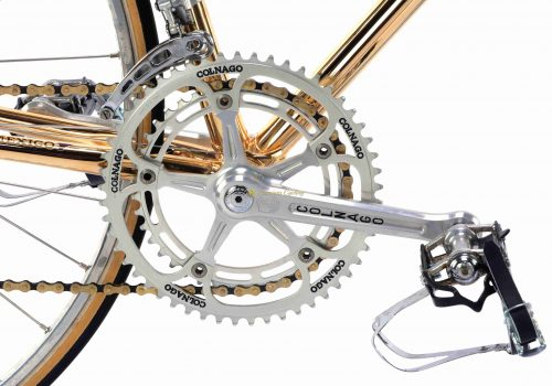 1978 COLNAGO Mexico Oro - ''Pope bike'' Campagnolo Super Record, luxury vintage collectible bike by Premium Cycling
