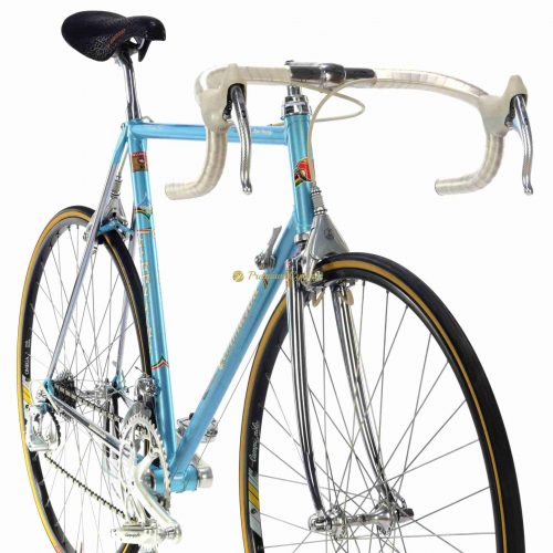 1987 TOMMASINI Super Prestige SLX, Campagnolo C Record Delta NOS new old stock, Eroica vintage steel collectible bike by Premium Cycling