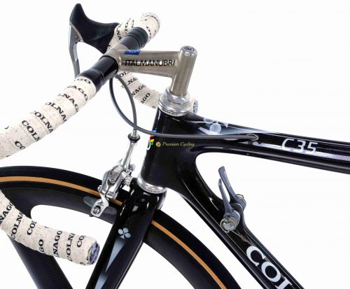 1989 COLNAGO C35, Shimano Dura Ace 7402, vintage carbon collectible bike by Premium Cycling