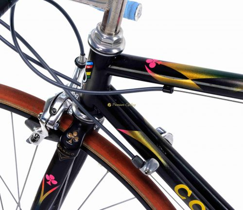 1995 COLNAGO Bititan Mapei, Shimano Dura Ace 8s, Tony Rominger replica, vintage titanium bicycle by Premium Cycling