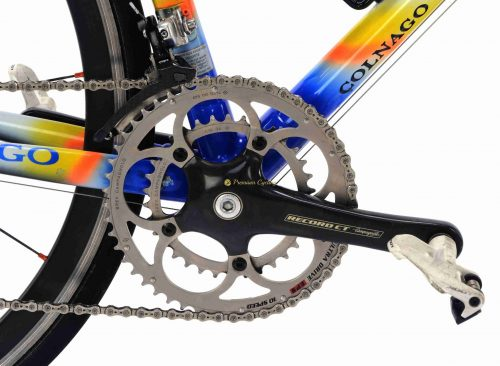 COLNAGO C40 Rabobank Campagnolo Record Ti 10s, 2000s 56.5cm by Premium Cycling