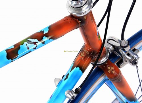 COLNAGO Master Geo, Campagnolo Record 10s, vintage steel collectible bike by Premium Cycling
