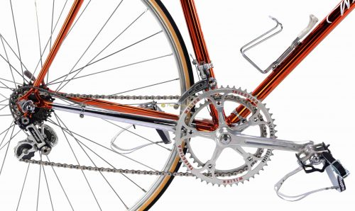 Late 1970s WILIER Superleggera Ramata Campagnolo Super Record, Eroica vintage steel collectible bike by Premium Cycling