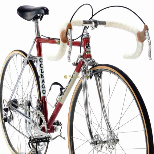 1982 COLNAGO Super Saronni Prototype, Campagnolo Super Record, Eroica vintage steel collectible bike