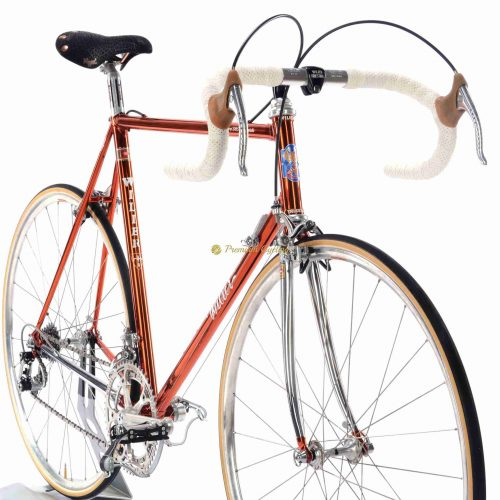 1985 WILIER Superleggera Ramata SLX, Campagnolo Super Record, Eroica vintage steel collectible bike by Premium Cycling