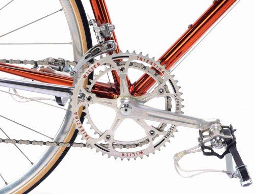 1985 WILIER Superleggera Ramata SLX, Campagnolo Super Record, Eroica vintage steel collectible bike by Premium Cycling