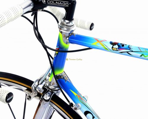 COLNAGO Master Art Decor, Campagnolo Record 10s, vintage steel collectible bike by Premium Cycling