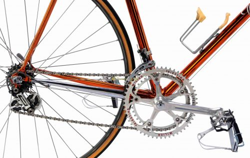 Mid 1980s WILIER Superleggera Ramata Campagnolo Super Record, L'Eroica vintage steel collectible bike by Premium Cycling