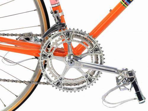1973 COLNAGO Super Eddy Merckx Molteni, Eroica vintage steel collectible bike by Premium Cycling