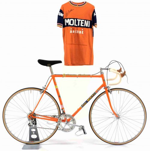 1973 COLNAGO Super Eddy Merckx Molteni, Eroica vintage steel collectible bike by Premium Cycling