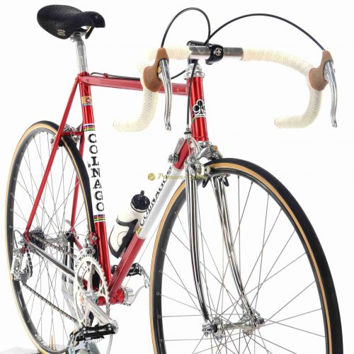 1983 COLNAGO Nuovo Mexico Saronni Del Tongo, Campagnolo 50th Anniversary, Eroica vintage steel collectible bike by Premium Cycling