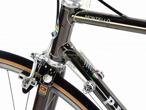 1984 PINARELLO Montello Cromovelato Campagnolo 50th Anniversary, Eroica vintage steel collectible bike