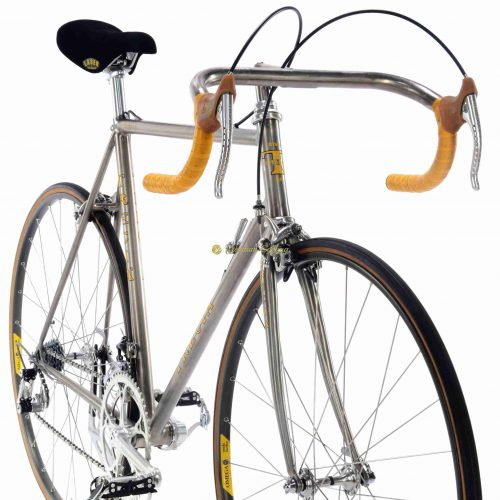 1985 TRECIA Titanio Campagnolo Super Record, luxury vintage titanium bicycle by Premium Cycling