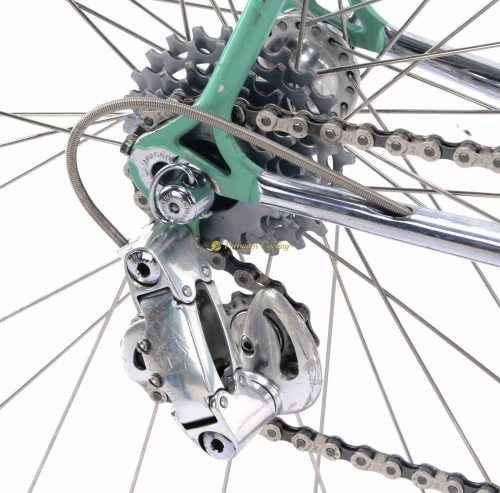 1987 BIANCHI X4 Campagnolo C Record 1st gen Cobalto, Eroica vintage steel collectible bike by Premium Cycling