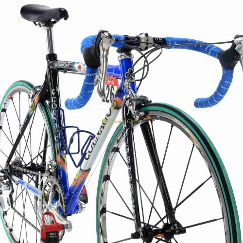 COLNAGO C40 Mapei Quick Step by M.Martinez Tour de Francre 2002, vintage collectible bike by Premium Cycling