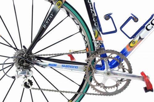 COLNAGO C40 Mapei Quick Step by M.Martinez Tour de Francre 2002, vintage collectible bike by Premium Cycling