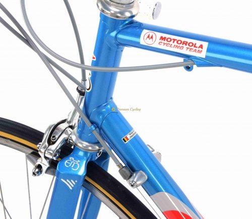 EDDY MERCKX MXL Leader Team Motorola 1992, vintage steel collectible bike by Premium Cycling