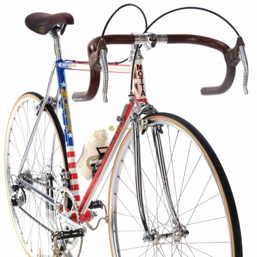 GIANNI MOTTA Personal by Gianni Motta Linea MD Team 1984, Campagnolo Super Record, Eroica vintage steel collectible bike by Premium Cycling