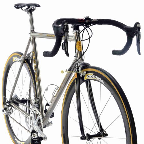 PASSONI Prima Titanio 2000 Campagnolo Record 10s, vintage titanium luxury bike by Premium Cycling