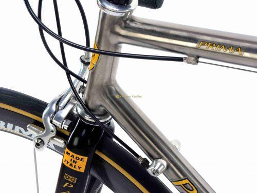 PASSONI Prima Titanio 2000 Campagnolo Record 10s, vintage titanium luxury bike by Premium Cycling