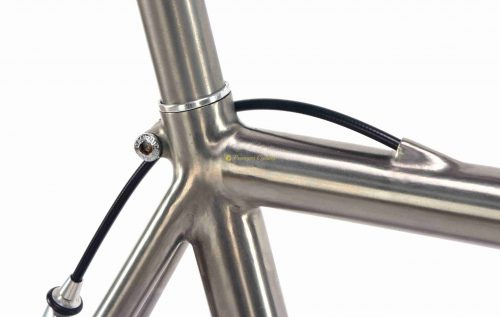 PASSONI Top Titanio, Campagnolo Record 10s 2000, titanium vintage collectible bike by Premium Cycling