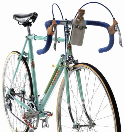 1957 BIANCHI Campione del Mondo, Campagnolo Gran Sport, Eroica vintage steel collectible bike by Premium Cycling