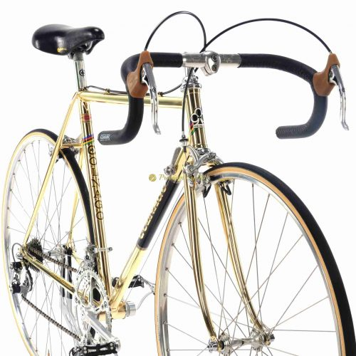 1978-79 COLNAGO Mexico Oro Pope bike, luxury vintage steel gold bike by Premium Cycling
