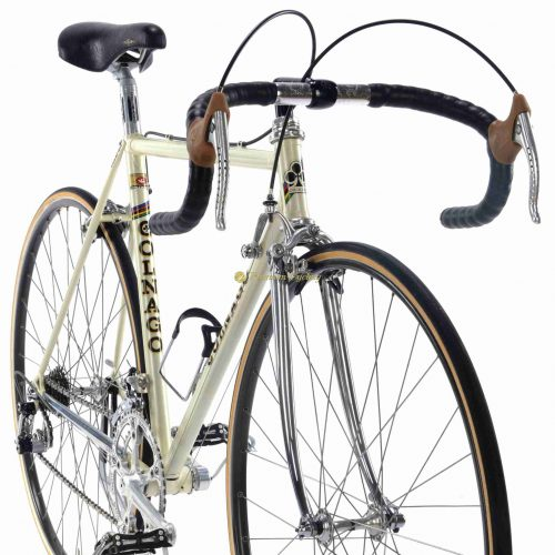 1982-83 COLNAGO Nuovo Mexico, Campagnolo Super Record Colnago pantograph, Eroica vintage steel collectible bike by Premium Cycling