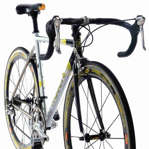 2001 PASSONI Nova Titanio Shimano Dura Ace 7700, vintage titanium collectible bicycle by Premium Cycling
