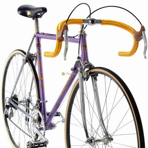 Late 1970s OLMO Competition SL, Campagnolo Super Record, Eroica vintage steel collectible bike by Premium Cycling