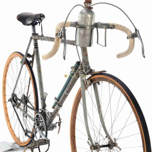 MAINO Campionissimo Vittoria Margheritta gears 1938 Girardengo, Eroica vintage steel bicycle by Premium Cycling