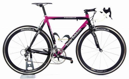 PINARELLO Dogma Team Telekom 2003, authentic vintage collectible team Telekom bike by Premium Cycling
