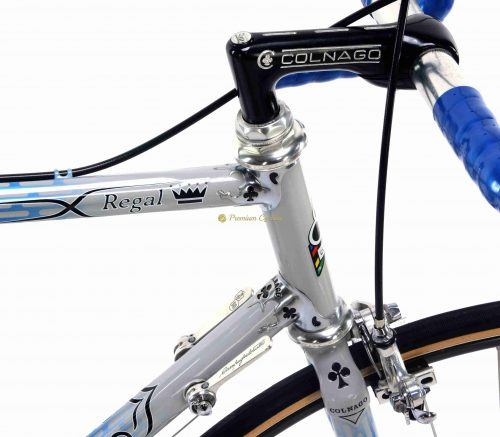 1986 COLNAGO Arabesque Regal Campagnolo 50th Anniversary, Eroica vintge steel luxury bicycle by Premium Cycling
