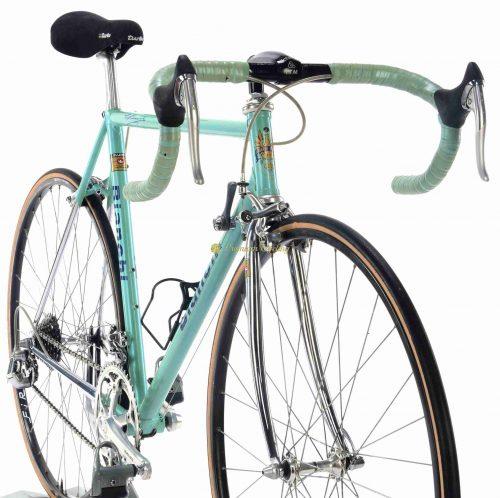 Early 1990s BIANCHI EL Reparto Corse Shimano Dura Ace 7400, vinatge steel racing bike by Premium Cycling