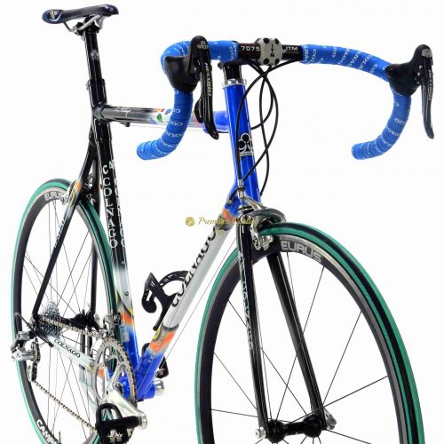 2002 COLNAGO C40 Mapei B-Stay Campagnolo Record 10s, vintage collectible racing bike by Premium Cycling