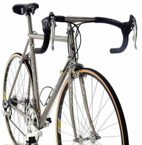 Mid 1990s PASSONI Top Titanio Campagnolo Record 8s, luxury vintage titanium bike by Premium Cycling