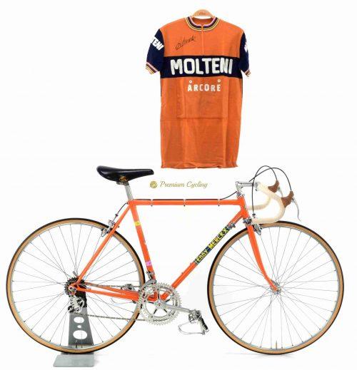1972-73 COLNAGO Super Eddy Merckx Molteni, Campagnolo Nuovo Record, Eroica vintage steel bike by Premium Cycling