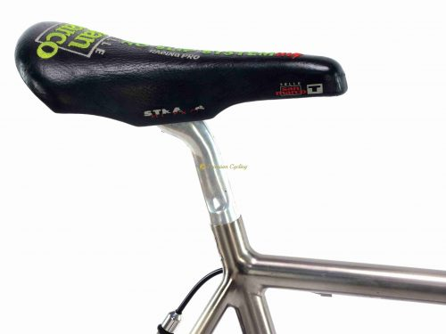 1996 MOSER Titanio by Massimiliano Lelli Team Saeco Tour de France 1996, vintage collectible bike by Premium Cycling