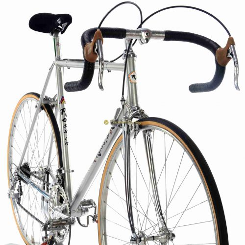 1970s ROSSIN Record SL, Campagnolo Nuovo Record, Eroica vintage steel colelctibler bike by Premium Cycling