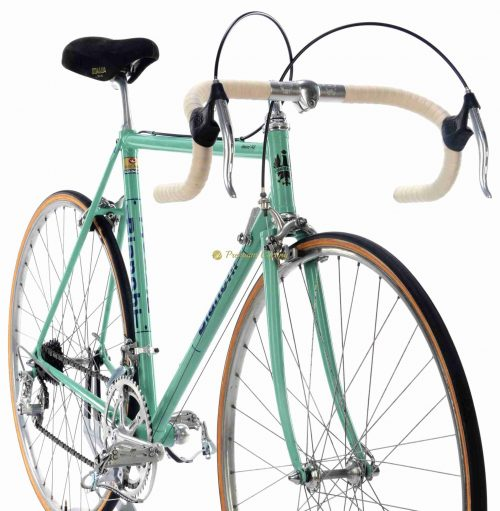 1977-78 BIANCHI Rekord 748, Campagnolo Nouvo Gran Sport - Nuovo Record. Eroica vintage steel collectible bike by Premium Cycling