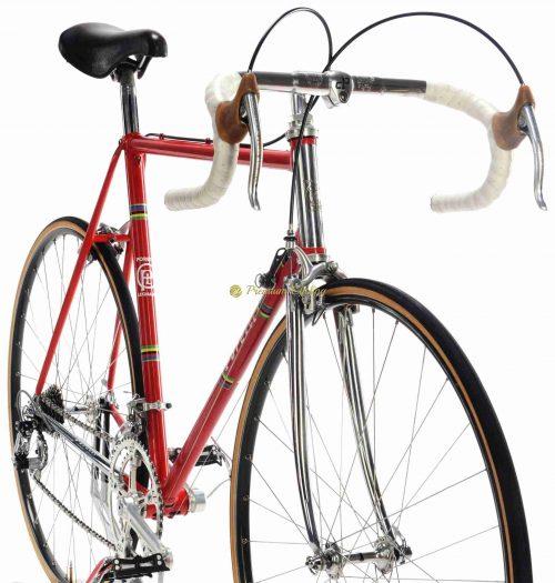 1980-81 PORETTI Corsa SL, Campagnolo Super Record, Eroica vintage steel colelctible bike by Premium Cycling