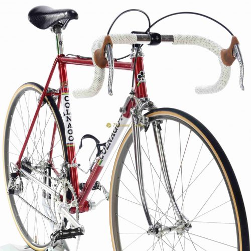 1981 COLNAGO Super Saronni Campagnolo Super Record, Eroica vintage steel collectible bike by Premium Cycling