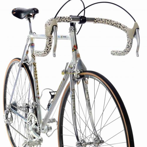 1985-86 TOMMASINI Prestige Air, Campagnolo C Record 1st gen, Eroica vintage steel bike by Premium Cycling