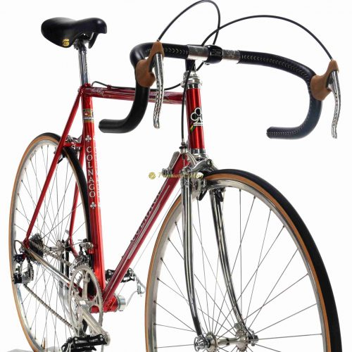 1985 COLNAGO Master Saronni, Campagnolo Super Recor, Eroica vintage steel collectible bike by Premium Cycling