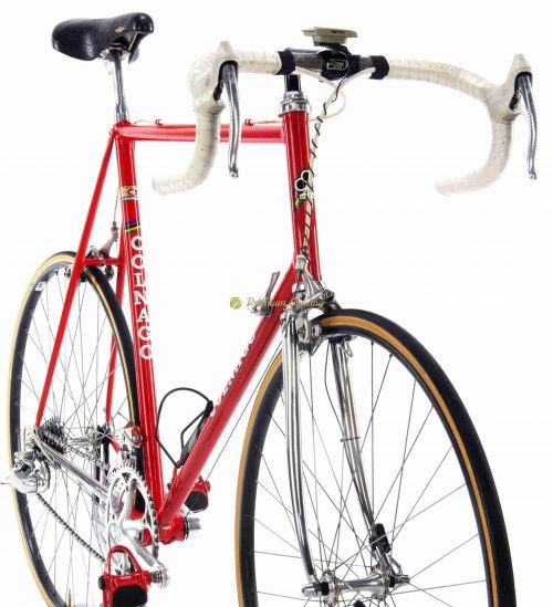 1987-88 COLNAGO Super SL. Campagnolo Athena, Eroica vintage steel colectible bike by Premium Cycling