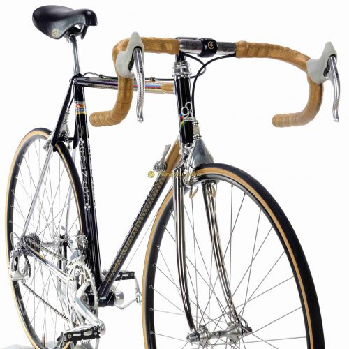 1987 COLNAGO Master Oro Retinato, Campagnolo C Record Delta, Eroica vintage steel collectible bike by Premium Cycling
