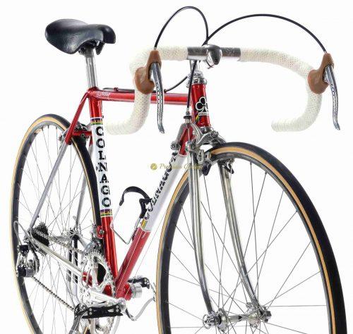 COLNAGO Super Saronni Campagnolo Super Record 50cm, Eroica vintage steel collectible bike by Premium Cycling