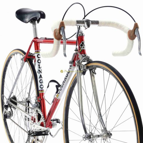 COLNAGO Super Saronni Campagnolo Super Record 50cm, Eroica vintage steel collectible bike by Premium Cycling