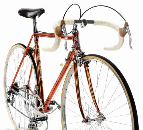 Early 1980s WILIER Superleggera Ramata SL, Campagnolo Super Record, Eroica vintage steel collectbile bike by Premium Cycling