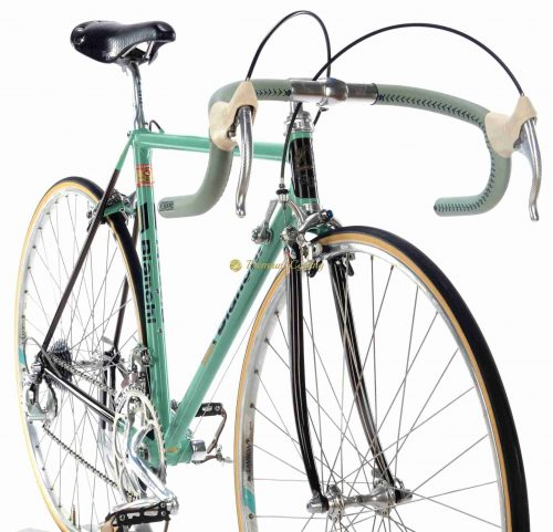 1987-88 BIANCHI Specialissima X4 Argentin, Campagnolo C Record 1st gen Cobalto, Eroica vintage steel collectible bike by Premium Cycling